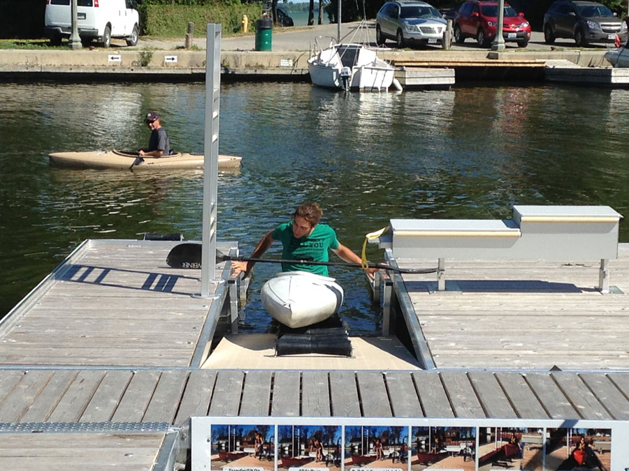 Accessible Kayak Launch